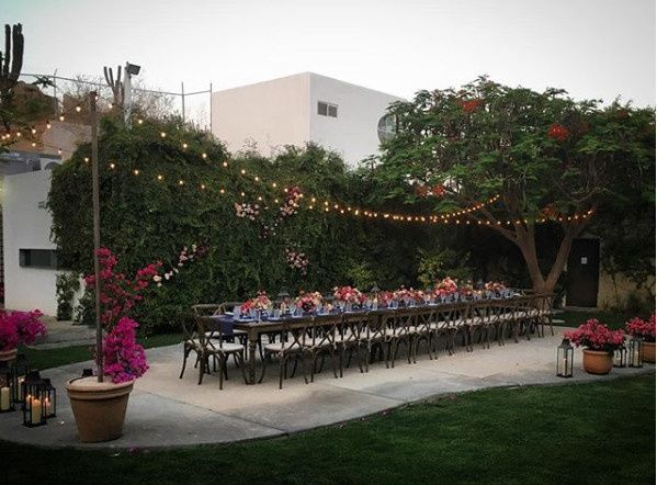 Tables, chairs, lighting and more for your Los Cabos Wedding!!!