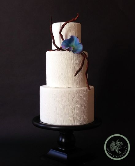 Tiffanys Cakery Wedding Cake Gastonia Nc Weddingwire
