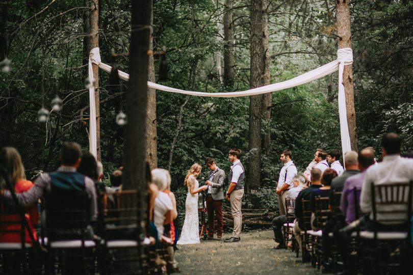 Peoria il woodland ceremony