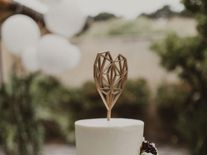 Tmx 1519426835 9fda24fef3201e24 1519426833 8acfa899632b0795 1519426827829 5 Blue Ombre Cake Santa Cruz wedding cake