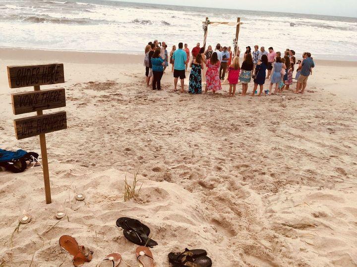 Beautiful Beach Ceremony