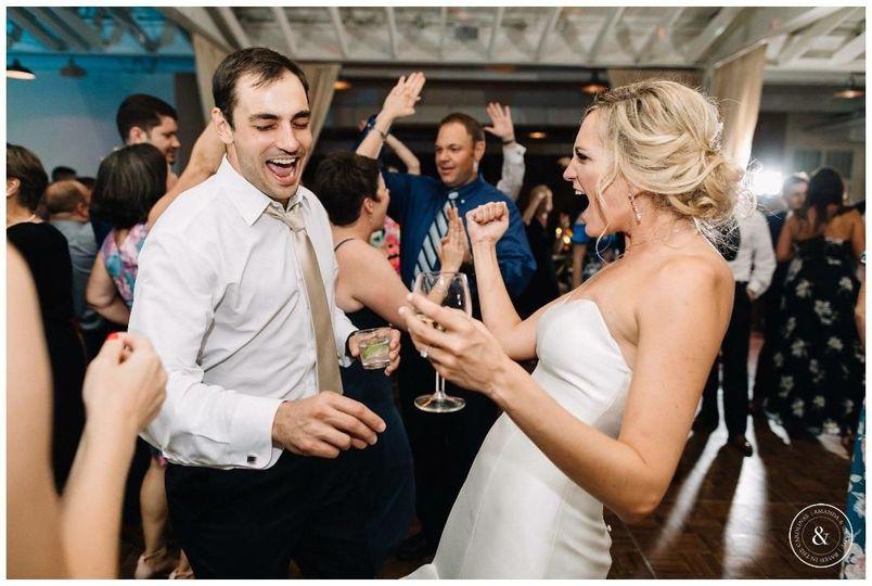Bride Dancing The Night Away!