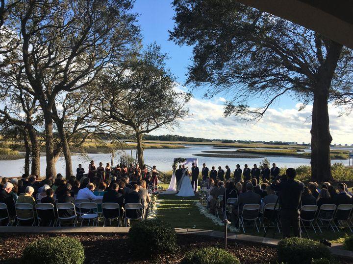 Beautiful Waterfront Ceremony