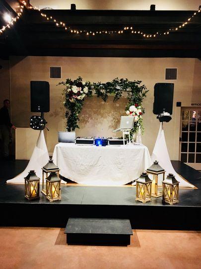 Regal Events DJ Simple Set Up