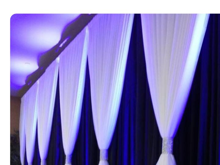 Tmx 1500390058436 Blue And White Curtains Taylors, SC wedding eventproduction