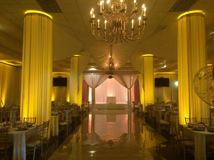 Tmx 1500390670813 Yellow Lighting Drapes Taylors, SC wedding eventproduction