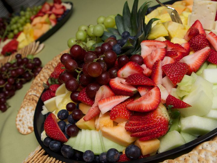 Tmx 1452125528063 Melissas Wedding Cocktail Hour Fruit Appetizer Salem, New Hampshire wedding catering