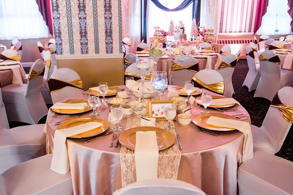 Tmx 1478203128542 Blush Table Cloths Salem, New Hampshire wedding catering