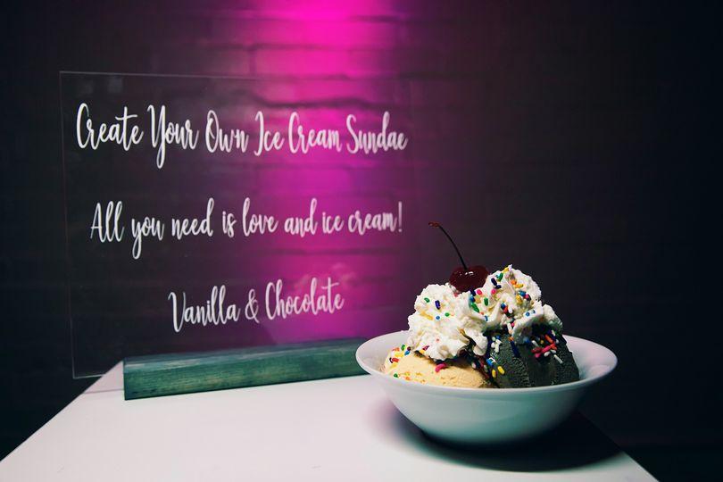 Dessert - Ice Cream Sundae!