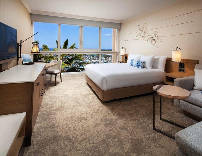 Ocean Front Harbor Guestroom