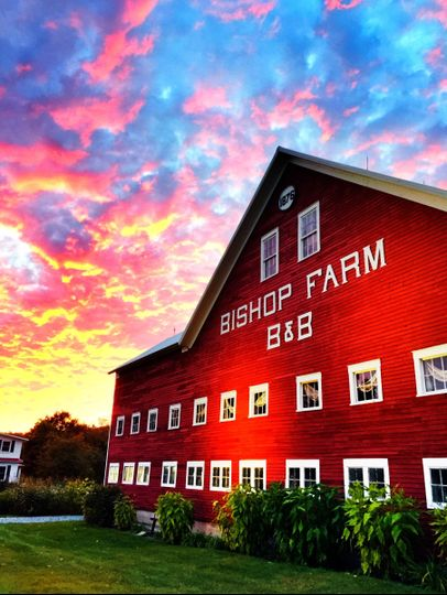 Exterior view of bishop farm