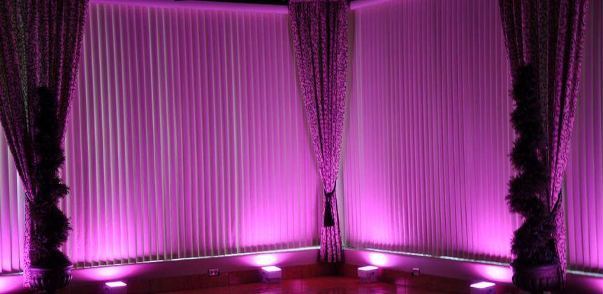 pink led lights rental