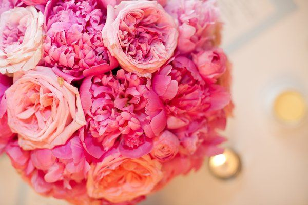 Pink bouquet Photo Credit: EyeWonder Photography