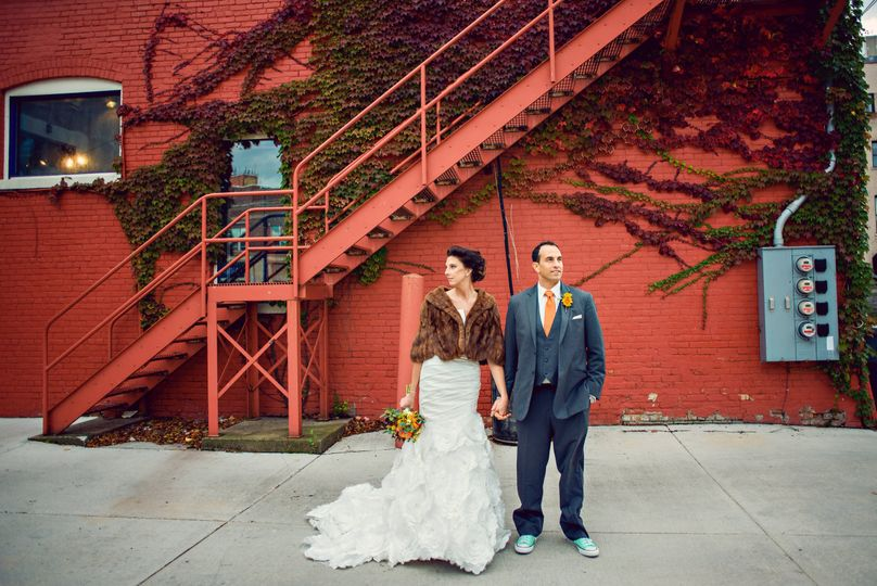 Creative couple photo
