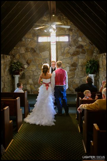 Quaint Chapel Ceremony