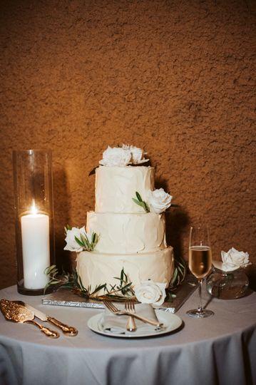 Calistoga Ranch Wedding Cake