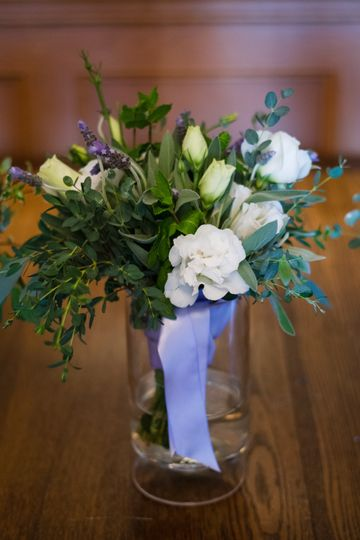 Bride Bouquet SF Seminary