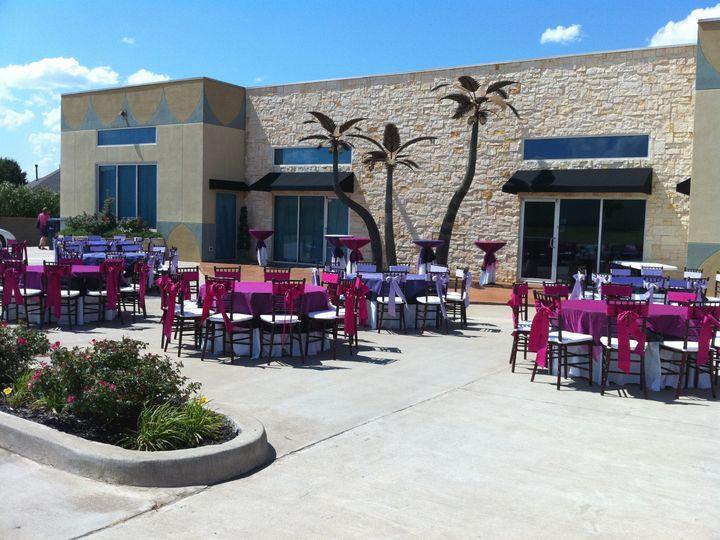 Tmx 1383231839832 Pinkpurple Outsidew Seating Edmond, OK wedding venue