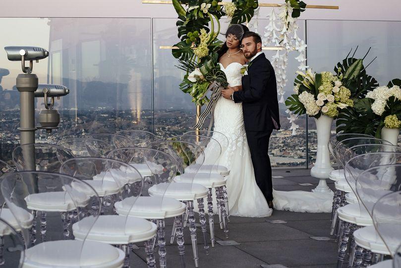 The newlyweds - Skyspace LA