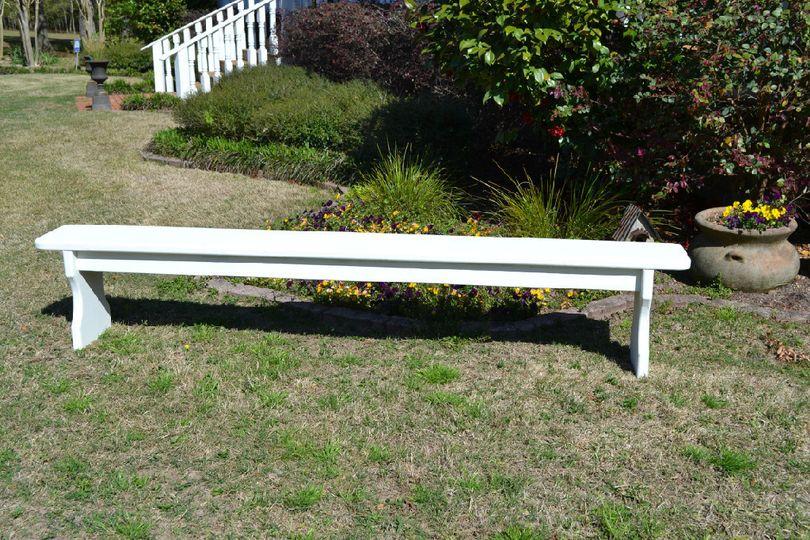 cream bench