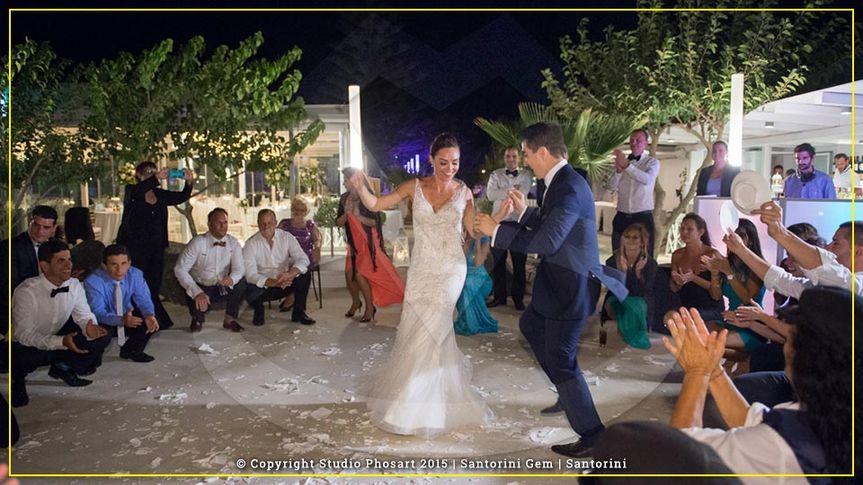 Wedding in Santorini Gem