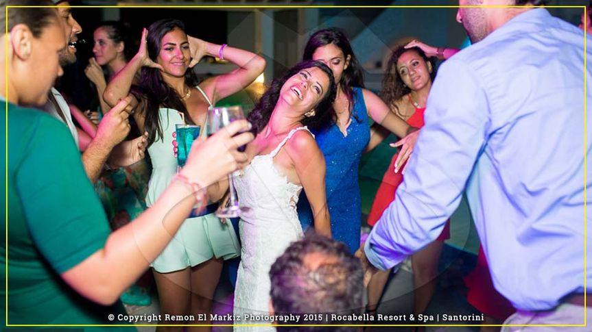 Wedding in Rocabela Santorini