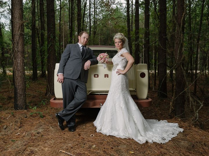 Tmx 1475805630962 Heidi  Brandon Posed 4 Hattiesburg, MS wedding photography