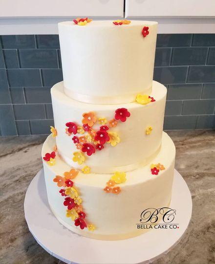 Fall Blossom Cake 2