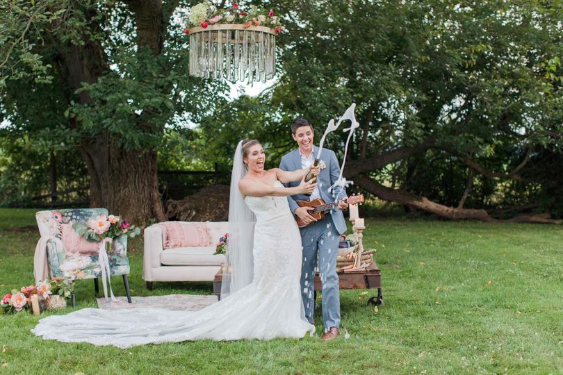 Six acres of bucolic farmland for your ceremony