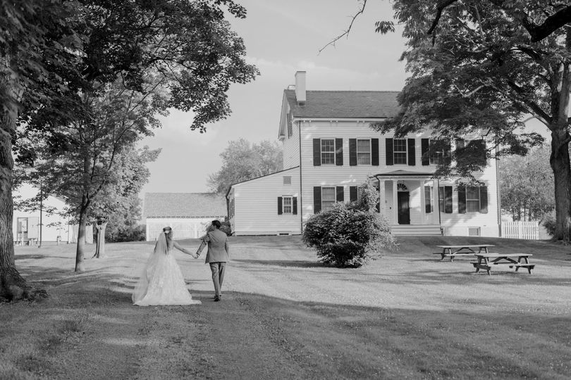 Our historic farmhouse-ideal for ceremonies