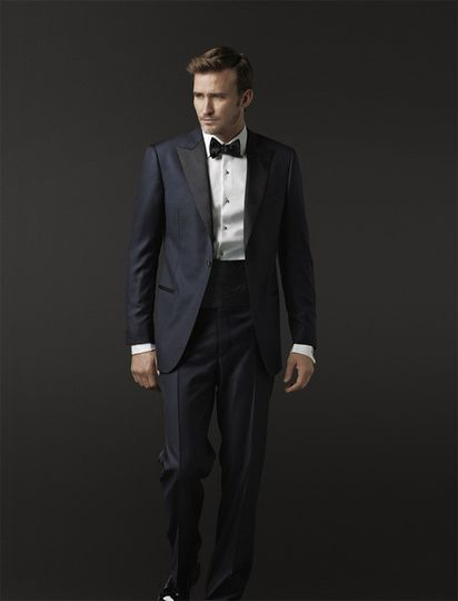 The J. Hilburn Midnight Blue tuxedo is a very fresh look a la Hugh Jackman and Daniel Craig. This...