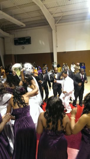 Everyone was ready to let loose & party at this awesome wedding in Greenbelt, MD