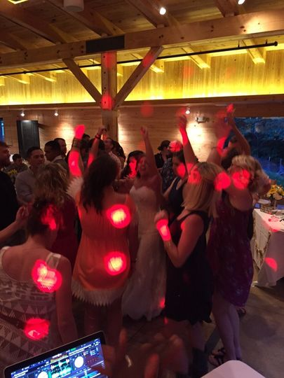 Awesome wedding reception at the Hanover Tavern in Virginia