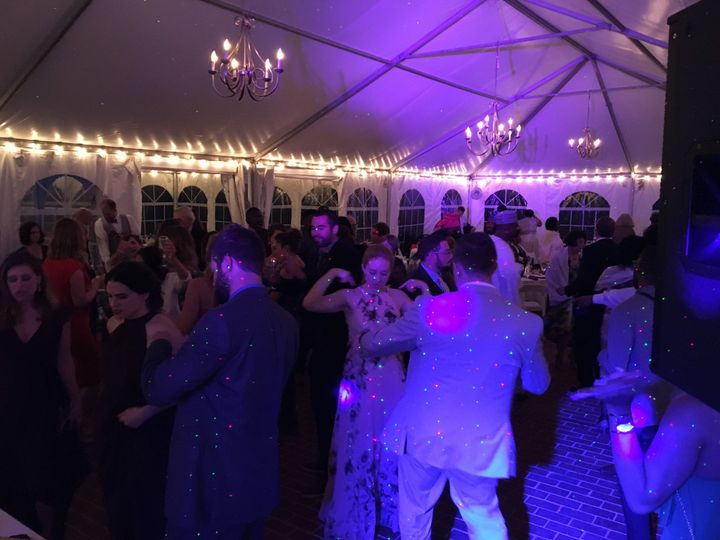 Party time at Sarah & Onye's wedding, at the historic Woodlawn Manor (Maryland)