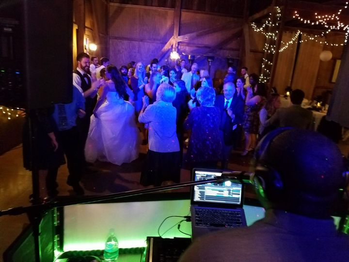 It was an awesome turn-up at Sara & Michael's wedding at the WeatherLea Farm in Virginia.