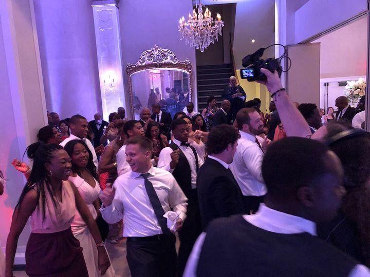 Packed dancefloor at Myrina & Jay's gorgeous wedding in Winchester, VA