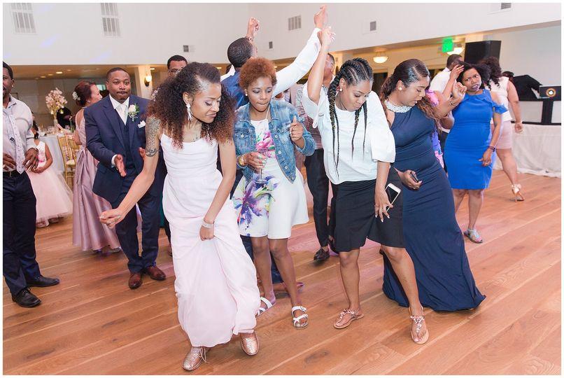 The Robinson's wedding