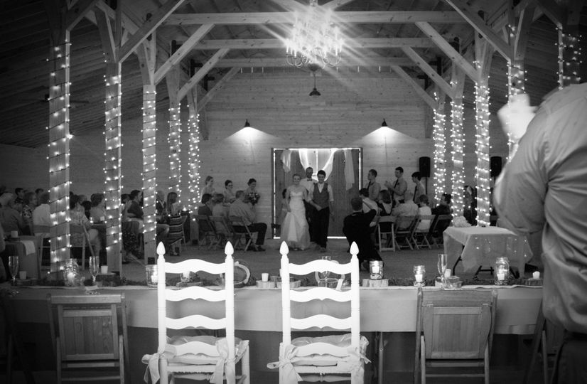 Indoor and outdoor options are available for ceremonies.