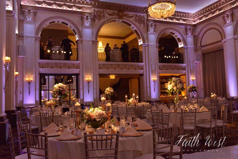 Palatial ballroom