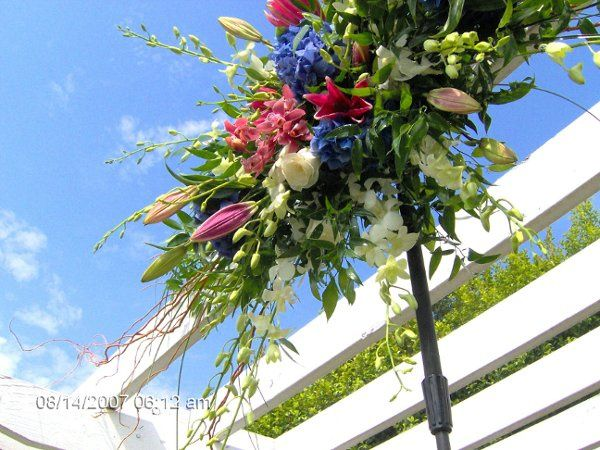 Outdoor flower decors