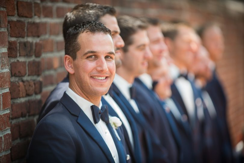 Photo of the groomsmen