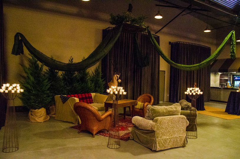 Wedding guest's lounge