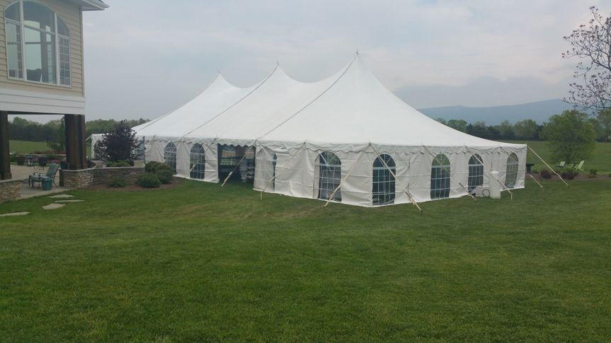 Closed tents