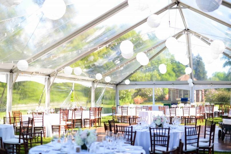 Clear-Top Tent Reception