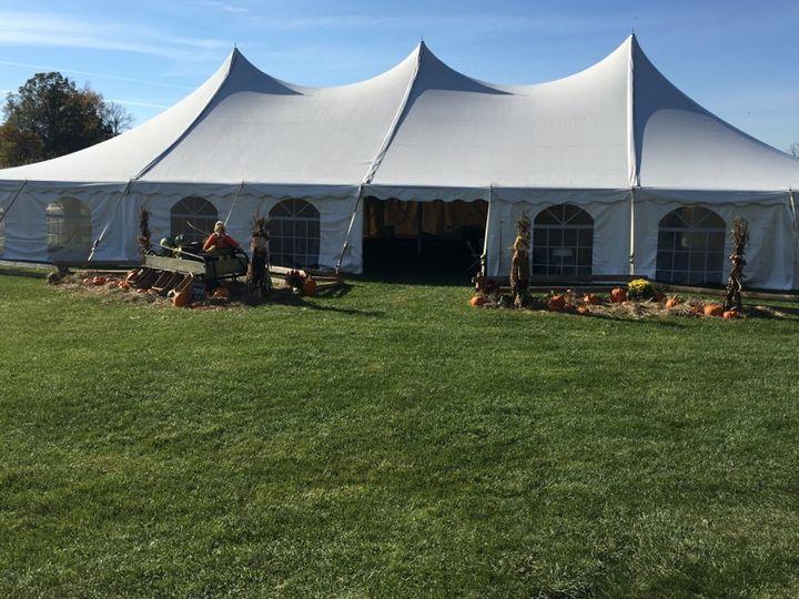 Fall tent design