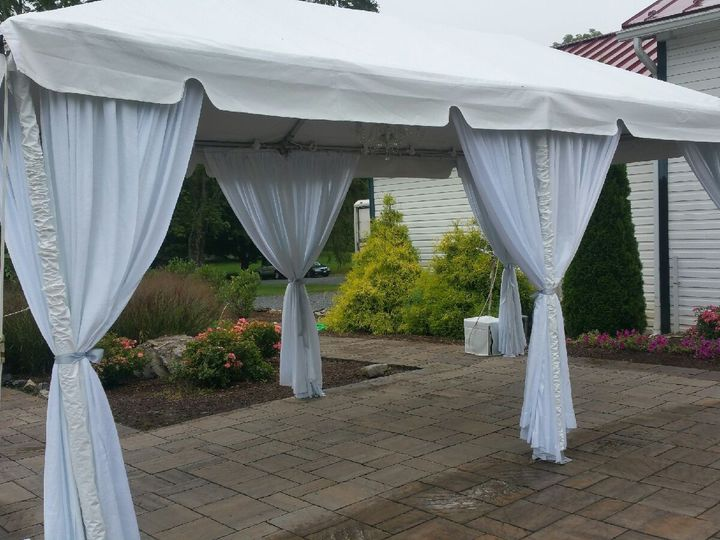 Tmx White Pole Wraps 51 74748 Winchester, District Of Columbia wedding rental