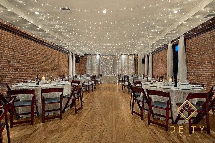 Deity weddings event planning catering venue brooklyn ny weddingwire - Small event space brooklyn plan ...