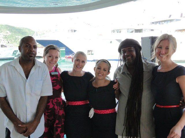 On a Yacht in Antigua