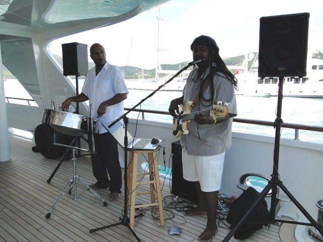 In Antigua on a Yacht