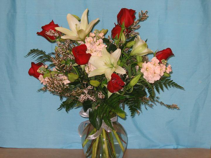 Classic romantic roses